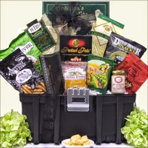 Toolbox Gift Basket for Him