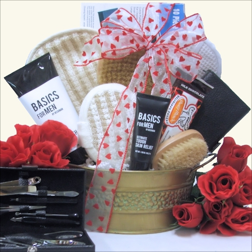 SPA_Valentines Day Gift Basket For Him